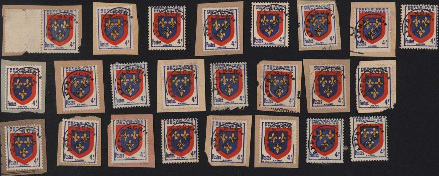 Cartes Postales Anciennes Timbres lots