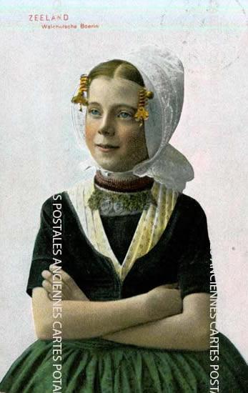 Old european union postcards