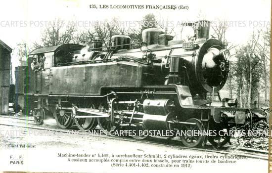Cartes Postales Anciennes Chemin de fer   train