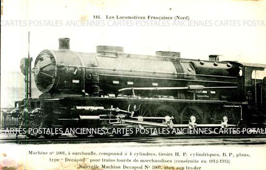 Railroad old postcards