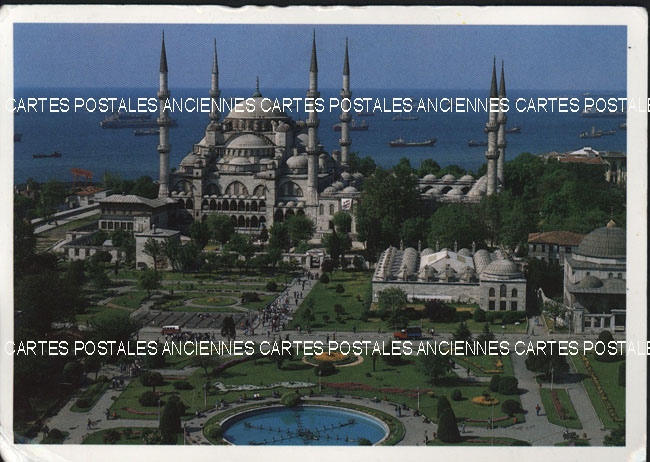 Old postcards turkey