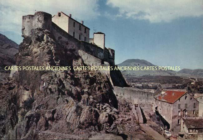Cartes Postales Anciennes Haute corse   2b Corte