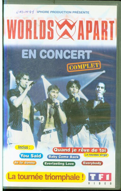 Autres collections  cassettes vhs  musique variétés