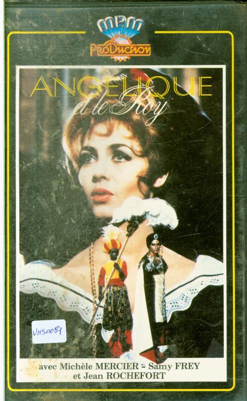 Cartes Postales Anciennes Autres collections  cassettes vhs  aventure Angélique cassettes vhs
