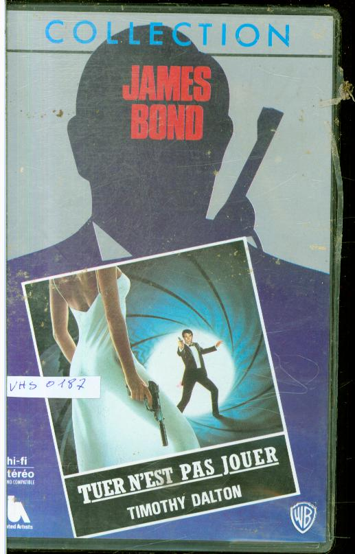 Cartes Postales Anciennes France Cassettes vhs Aventure cassettes vhs 007 cassettes vhs