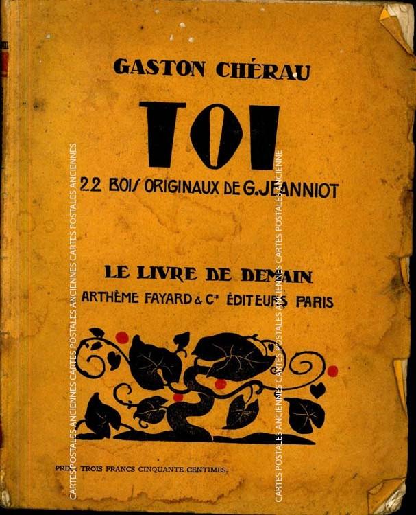 Cartes Postales Anciennes Livre occasion Edition arthème fayard & cie