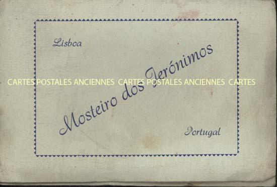 Cartes postales anciennes lots Lot portugal