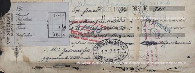 Timbres postes Tax stamps english