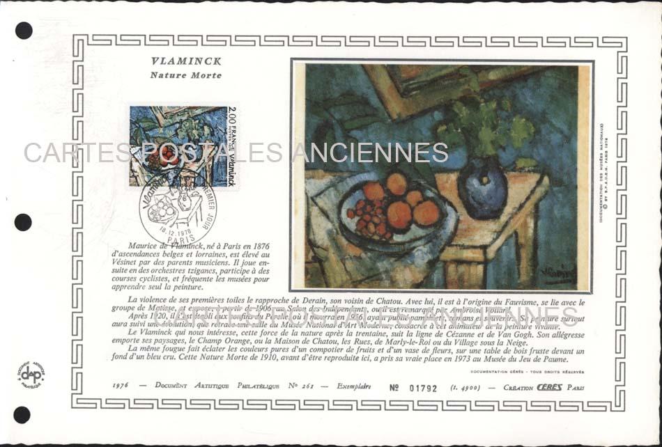 Timbres postes Collection stamps france Premier jour ou marque postale 1962