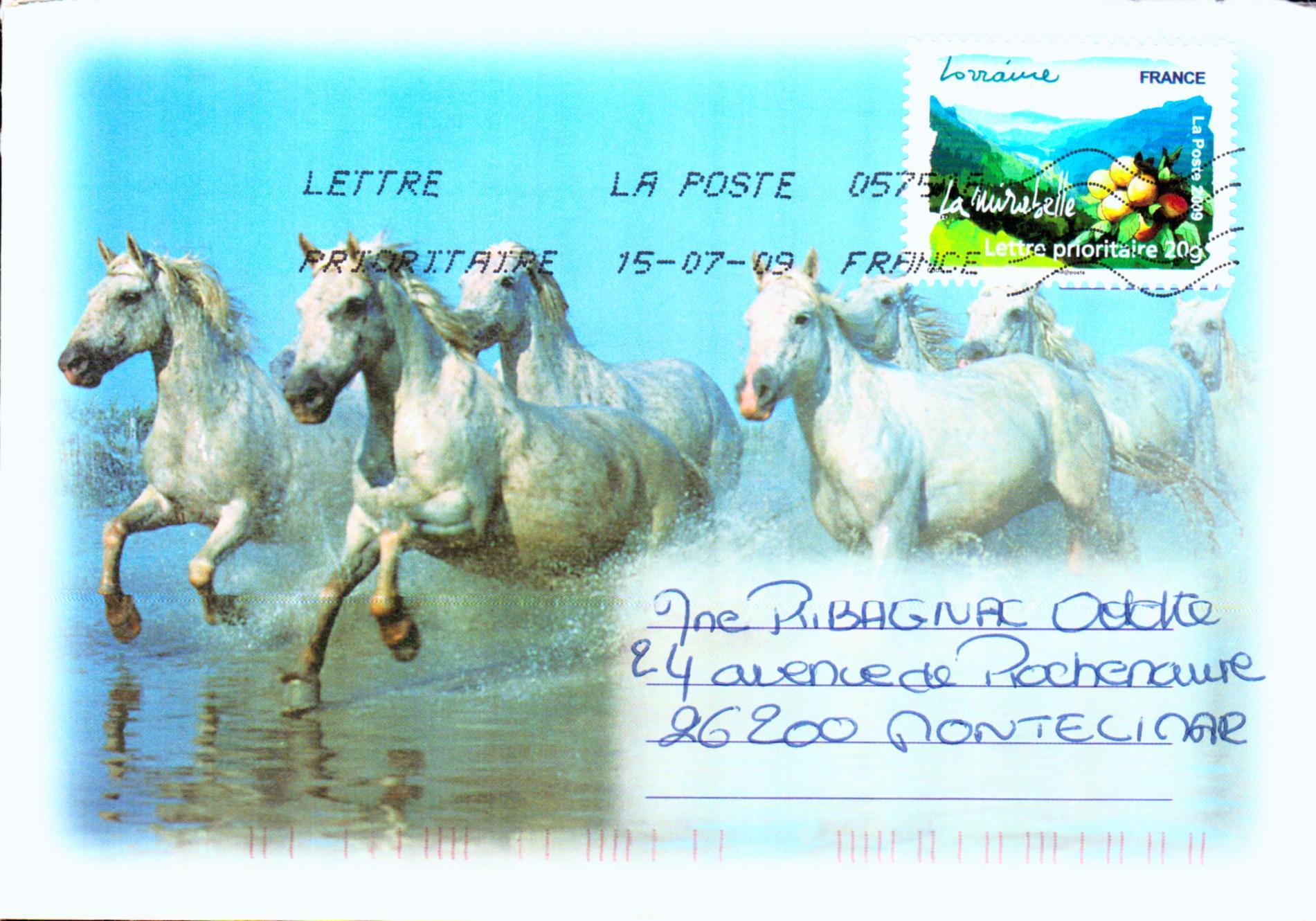 Stamps postals france