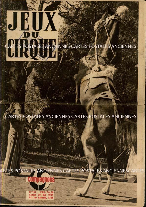 Autres collections Old magazines Jeux du cirque