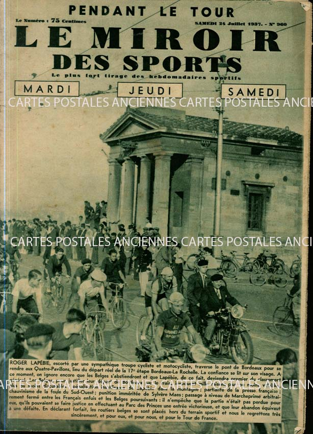 Autres collections Old magazines Le miroir des sports