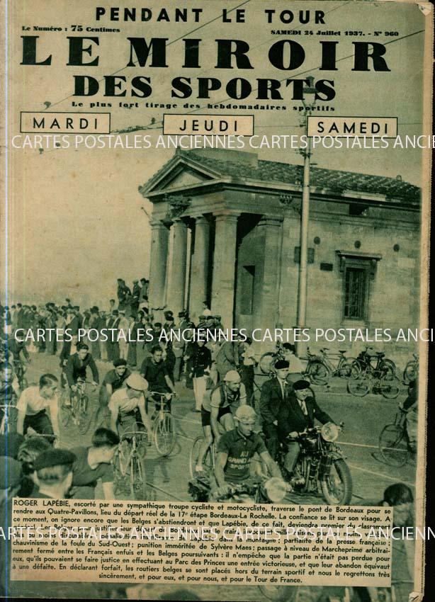 Autres collections Old magazines Le miroir des sports