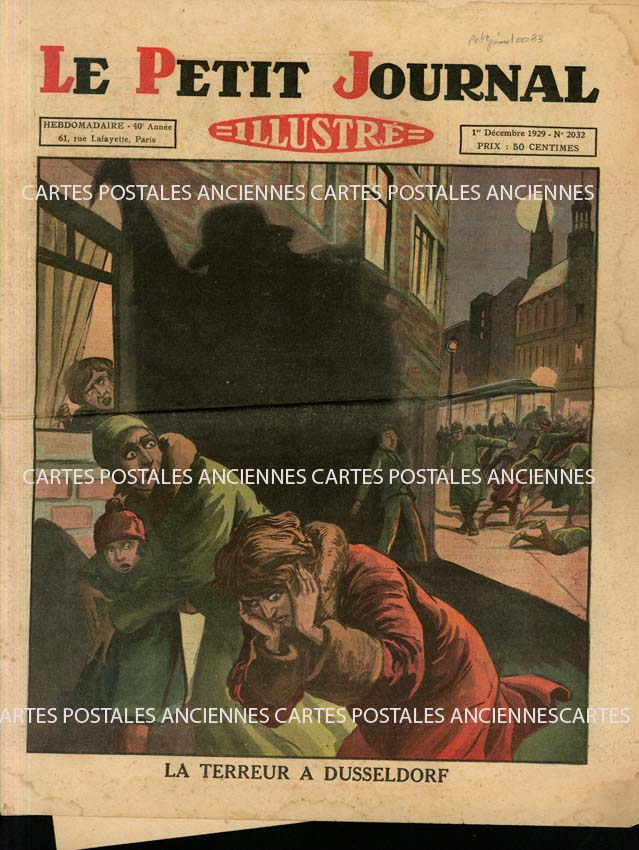 Autres collections Old magazines Le petit journal