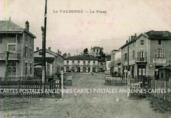 LA VALBONNE - La Place, d�partement de l'Ain