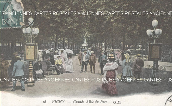 Vichy - Grande All�e du Parc -