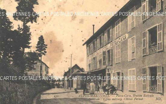 GRAND HOTEL PEIRA-CAVA en 1916<br>