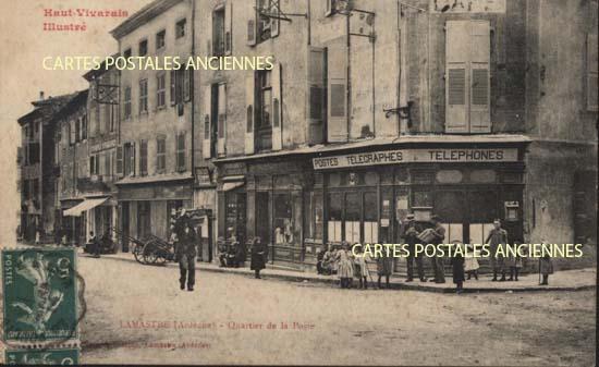 LAMASTRE (Ard�che) Quartier de la Poste
