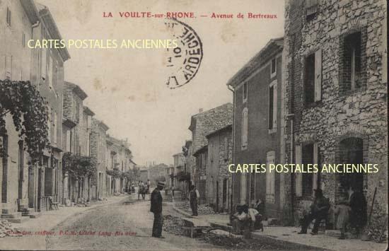 Rh�ne Alpes, 07 , Ard�che<br>Carte postale ancienne de l'Ard�che 07, La Voulte Sur Rh�ne