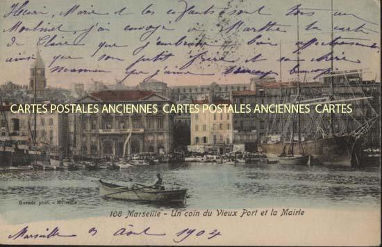 Carte postale Marseillle 2�me
