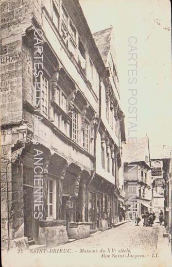Carte Postale Ancienne, SAINT-BRIEUC