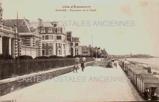 Carte Postale Ancienne, PARAME, C�te Emeraude