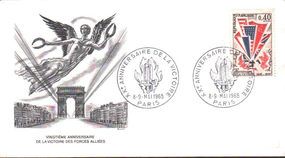 Premier Jour Emission Anniversaire de la Victoire 1965