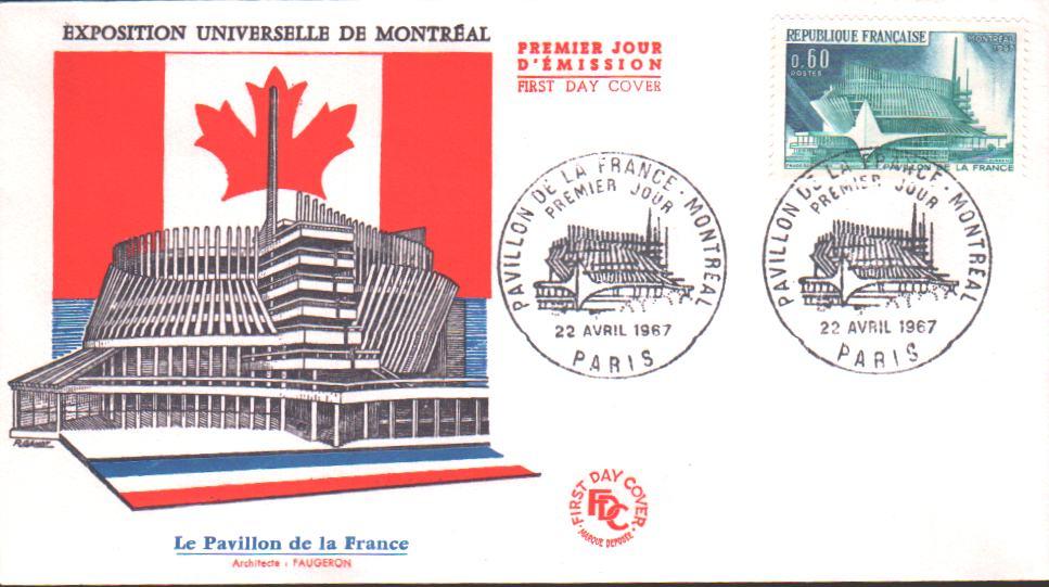 Premier Jour Emission Exposition Universelle de Montr�al