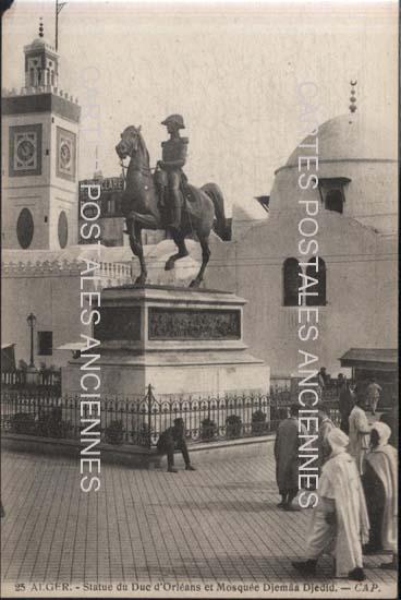 Old postcard Alger